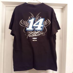 Tony Stewart #14 nascar racing t-shirt size xl